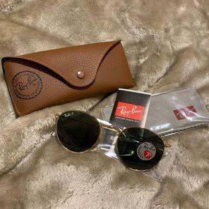 Ray-Ban round polarized sunglasses